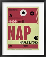 Framed APF Naples Luggage Tag II