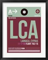 Framed LCA Cyprus Luggage Tag II