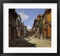 Framed Rue de la Bavolle