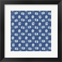 Framed Blue Shibori II