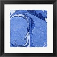 Framed Blue Marble Quad III