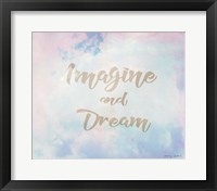 Framed Imagine and Dream