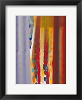 Framed Color Storm Silhouette