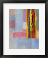 Framed Subtle Color Storm II