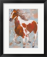 Framed Painted Horse