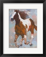 Framed Painted Horse #2