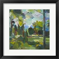 Framed Valley of Green