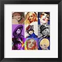 Framed Glamour Girls
