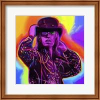 Framed Pop Art Tom Petty