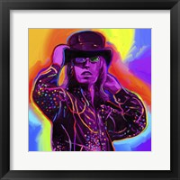 Framed Pop Art Tom Petty