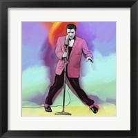 Framed Elvis Pop Art
