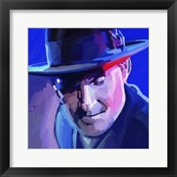 Framed James Taylor Pop Art