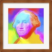 Framed Washington Pop Art