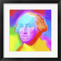 Framed Washington Pop Art