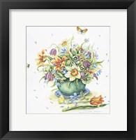 Framed April Bouquet