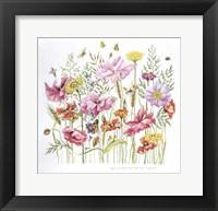 Framed August Bouquet 2