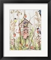 Framed Birdhouse
