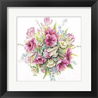Framed January Bouquet