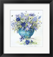 Framed March Bouquet