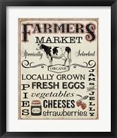 Framed Farmers Organic Market