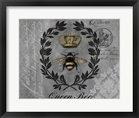 Framed Queen Bee-B
