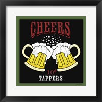 Framed Cheers Beer 2