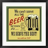 Framed Best Beer