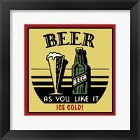 Framed Cold Beer