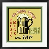 Framed Tap Beer
