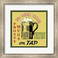 Framed Tap Beer