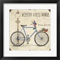 Framed Western Wheel Works