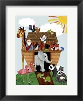 Framed Ark on Land
