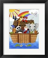 Framed Ark on Water