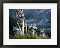Framed Wolf Pack