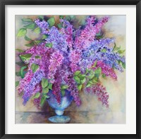 Framed Varity of Lilacs