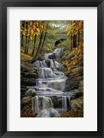 Framed Falling Water
