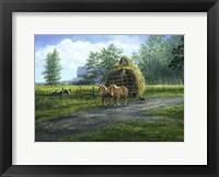 Framed Making Hay