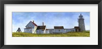 Framed Monhegan Island Light