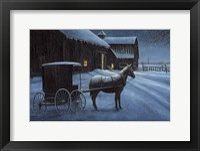 Framed Upon a Winter Night