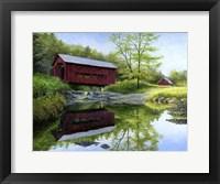 Framed New England Red