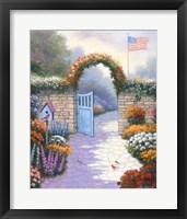 Framed Garden Splendor