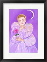 Framed Pierrot's Rose