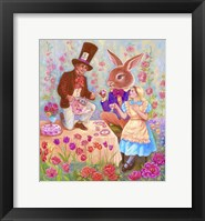 Framed Mad Hatters Tea Party