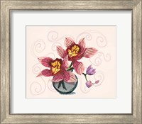 Framed Happy Orchids