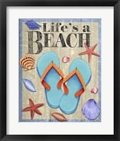 Framed Life's A Beach