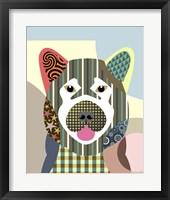 Framed Akita Dog