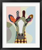 Framed Stand Tall Giraffe