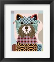Framed Cairn Terrier