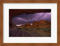 Framed Desert Storm