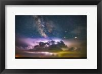 Framed Milky Way Monsoon Print